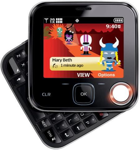 Nokia 7705 Twist, un móvil muy cuadrado