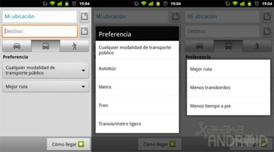 Google Maps 6.5.0, ahora con opciones para rutas en transporte público y más novedades