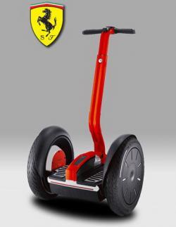 Segway PT i2 Ferrari, el Ferrari urbano por 8.000 euros