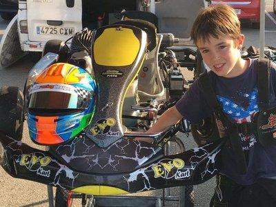 Fallece el piloto de kart Gonzalo Basurto de 11 años en un accidente en el Circuito Fernando Alonso