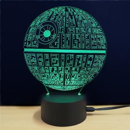 Lámpara Star Wars, Estrella de la Muerte o Darth Vader, por sólo 5,02 euros y envío gratis con este cupón