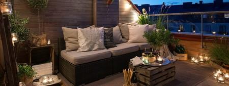 Ideas, trucos y algunos DIY para conseguir una iluminación mágica en nuestra terraza gracias a Pinterest