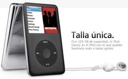 iPod Classic, el mito empieza a decaer