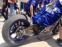 El test de Michelin se salda con varias caídas