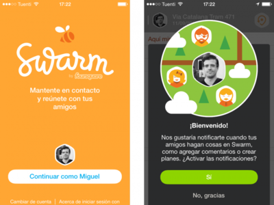 Swarm: así funciona la nueva aplicación de Foursquare para el iPhone