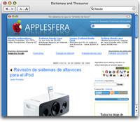 Web en otros programas de Mac os X