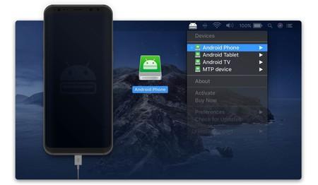 Transferir Archivos Android Mac