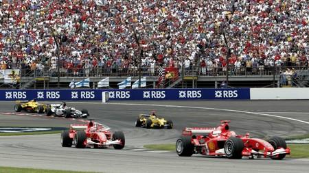 Schumacher Indianapolis F1 2005