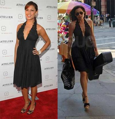 Vestido de Catherine Malandrino: ¿Minnie o Vanessa?