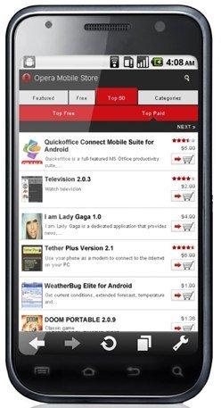 Opera Mobile Store, los chicos del navegador montan una tienda de aplicaciones