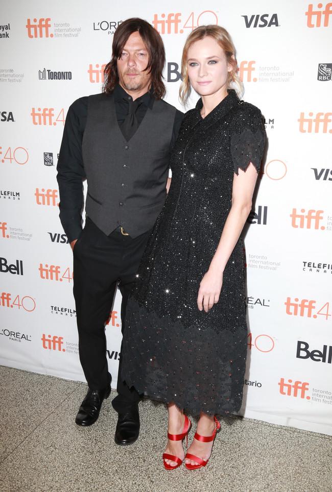 ¿Diane Kruger y Norman Reedus? Yo esto nunca lo habría visto venir