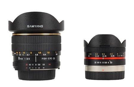 Samyang 8mm y 7.5mm