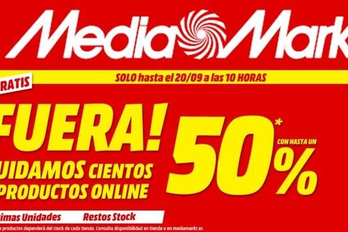 Stocks fuera en MediaMarkt: los mejores precios en restos de stocks con gastos de envío incluidos