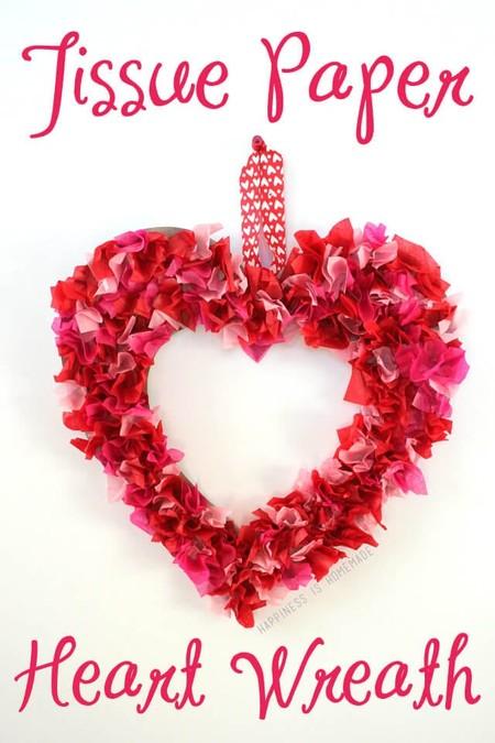 Manualidades San Valentin Corona Corazon