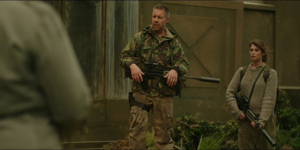 Paddy Considine Gemma Arterton The Girl With All The Gifts