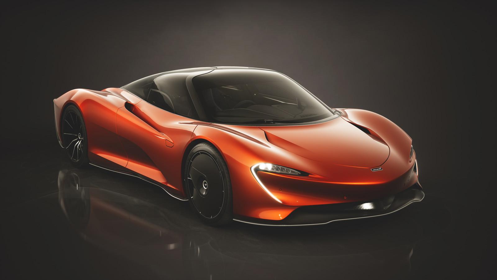 McLaren Speedtail, colecciones de diseño