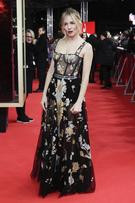 Sienna Miller Ciudad Z Berlinale 2017 Look Dior 2