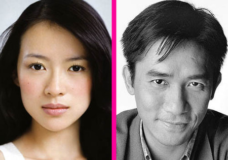 Zhang Ziyi y Tony Leung elegidos los chinos más guapos