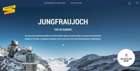 La estación de tren mas alta de Europa, inaugura exposición interactiva
