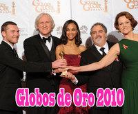 Los Globos de Oro 2010 (I): Premiados y Parejas de Poprosa