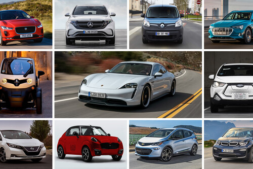 Estos son los 19 autos eléctricos a la venta en México, del más barato al más caro