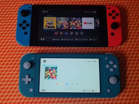 Nintendo Switch Lite Primeras Impresiones Mexico Tamano