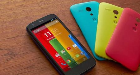 Motorola Moto G toma de contacto