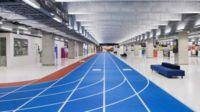 El aeropuerto que parece una prueba olímpica