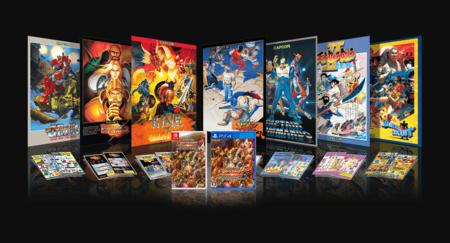 Las cuatro ediciones físicas de Capcom Beat'em up Bundle que saldrán en Japón son puro fanservice