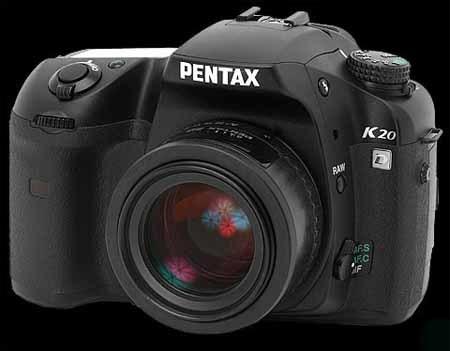 Pentax presentá nuevas réflex: K20D y K200D