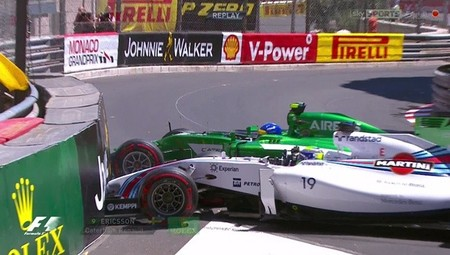 Un accidente que condiciona la Q2 de Felipe Massa
