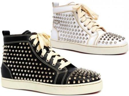 Zapatillas con pinchos de Christian Louboutin