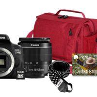 Todo lo que necesitas para iniciarte en la fotografía reflex lo tienes en este pack de Mediamarkt con la Canon EOS 750D por 579 euros