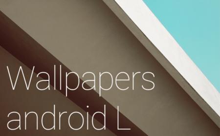 Descarga los fondos de Android L