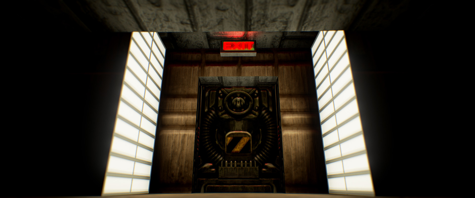 Foto de Nivel E1M1 de Doom en Unreal Engine (4/13)