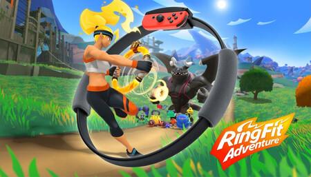 'Ring Fit Adventure', el juego para ponerte en forma de Nintendo Switch está en su precio más bajo a la fecha: 1,199 pesos