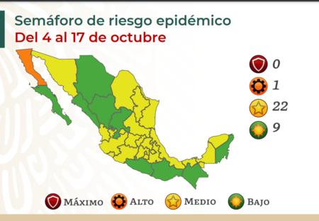Casi Una Tercera Parte De Mexico Queda En Semaforo Verde Por Covid Ya Solo Hay Un Estado Nivel Algo De Riesgo De Contagio
