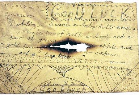 Hallan una carta a Papá Noel escrita hace 100 años