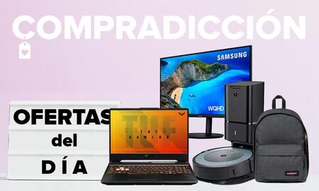 Ofertas del día en Amazon: portátiles ASUS y Lenovo, monitores Samsung, robots aspiradores Roomba y pequeño electrodoméstico Philips a precios rebajados