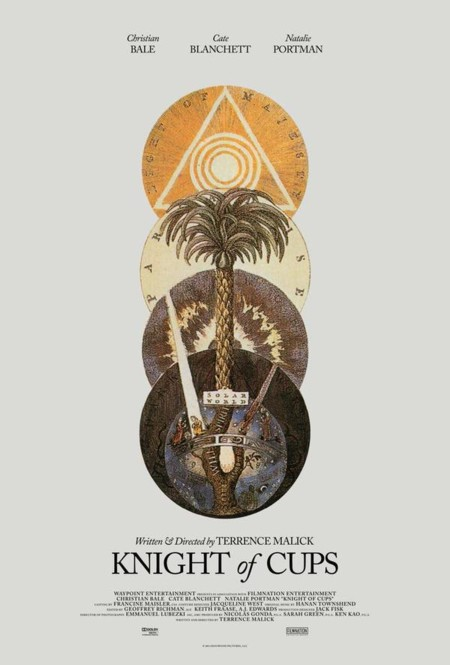 Teaser póster de Knight Of Cups