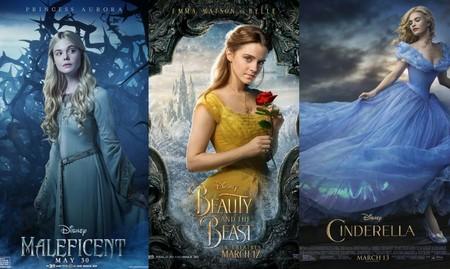 Aurora, Bella y Cenicienta