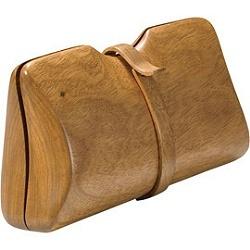 Bolso en madera de Tia Cibani