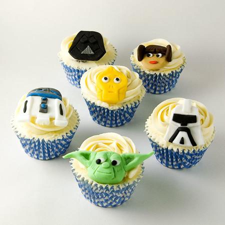 Cupcakes Starwars Objetivo