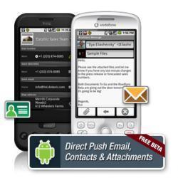 RoadSync, correo Exchange en Android.