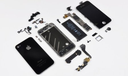 Apple iPhone 4 desmontado iFixit