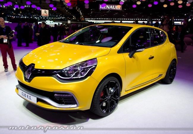 Renault Clio IV R.S. Salón de París
