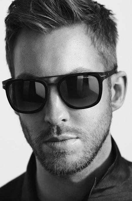 Calvin Harris Emporio Armani Spring Summer 2015 Advertising Campaign Shoot 003