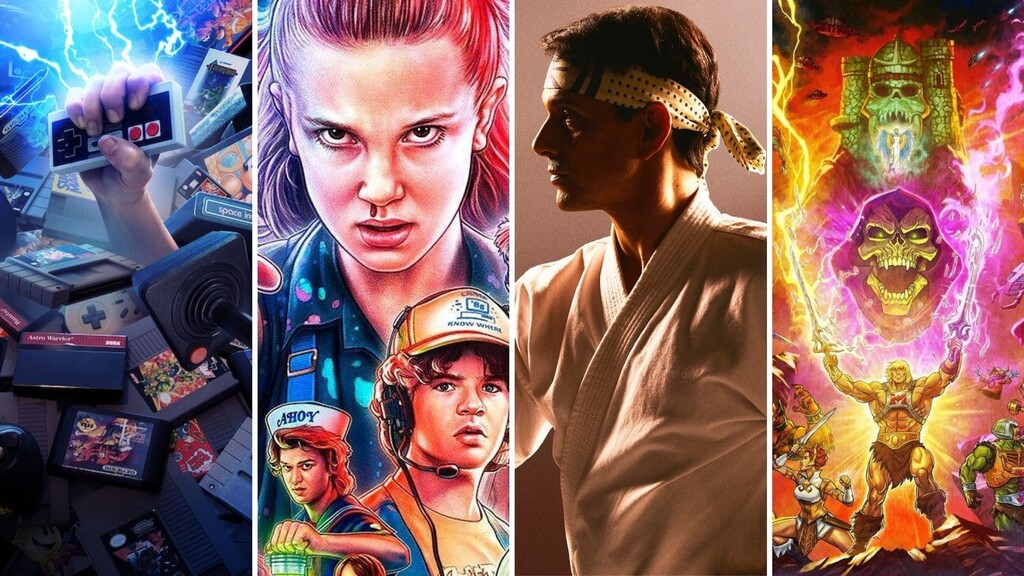 13 series y películas en Netflix para disfrutar de un atracón de nostalgia