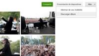 Google+ permite ver las fotos como una presentación y descargar todo un álbum en un ZIP