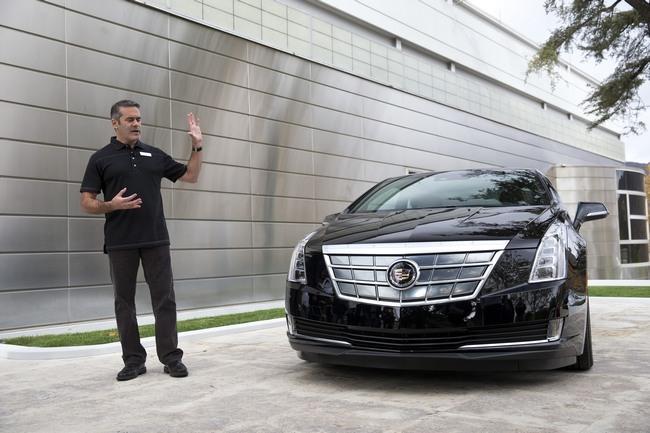 Cadillac Elr 2015